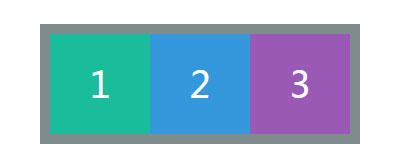 纯css3实现栏目三等平均分配