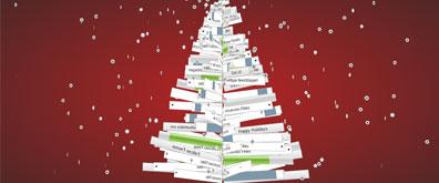 css3简洁动感旋转圣诞树效果