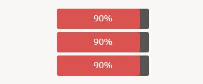 HTML5加载进度条百分比特效