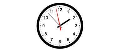 简洁易用的jQuery.clock-canvas基于canvas实现的时钟效果