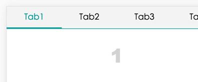 适合移动网页纯原生js选项卡tab切换