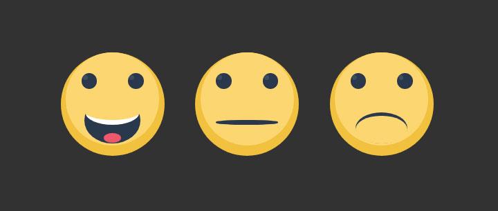 css3绘制可爱卡通脸部表情特效
