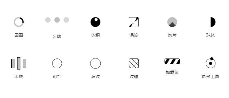 Bootstrap网页loading加载图标动画特效