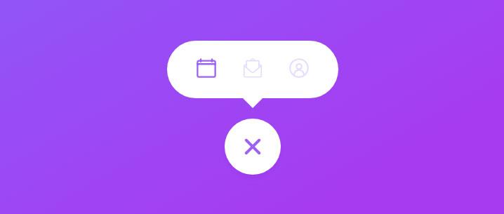 html5 svg点击图标按钮展开多个图标菜单特效