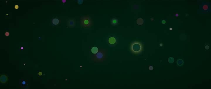jQuery+css3圓點粒子閃爍漂浮背景動畫特效
