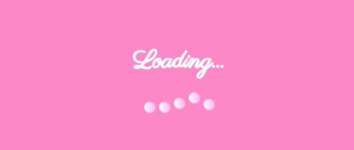 css3珠子并排上下滚动loading加载动画特效
