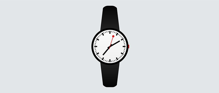 css3瑞士手表ui动画特效
