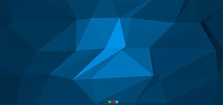 html5全屏酷炫3D多边形背景动画特效