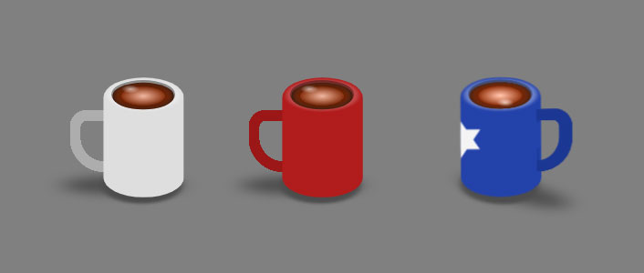 css3 3D立体杯子旋转动画特效