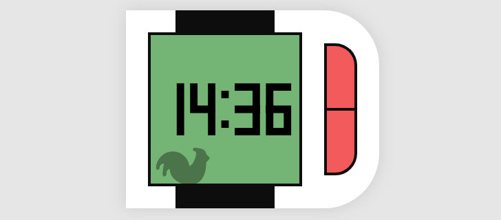 js+css3+html5智能手表时钟和计算器切换代码
