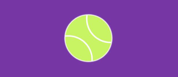 css3网球弹性弹跳动画特效