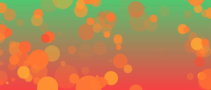 html5 canvas绘制梦幻气泡背景动画特效