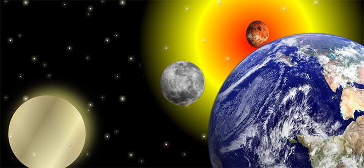 css3绘制2D宇宙星空元素背景动画特效