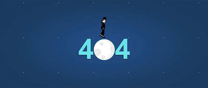 迈克尔·杰克逊月球漫步404动画特效