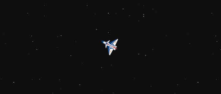鼠标移动控制飞机飞行方向js代码