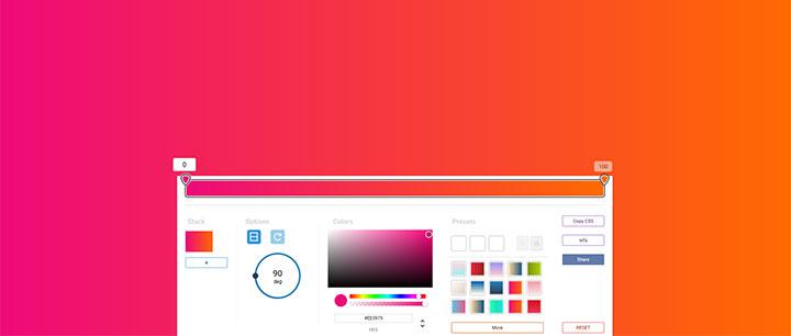 vue.js在线网页渐变背景颜色选择工具代码