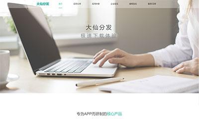 Thinkphp内核app分发系统大仙分发平台源码第一个版本