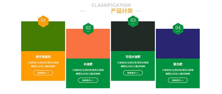 css3卡片式产品分类鼠标悬停高亮变色特效