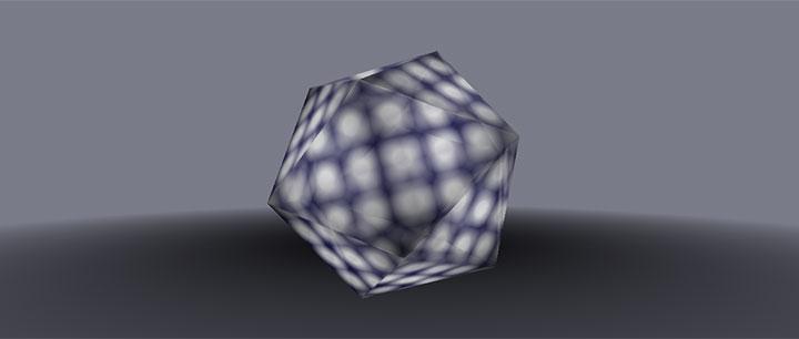 css3绘制的正多面体3D旋转动画特效