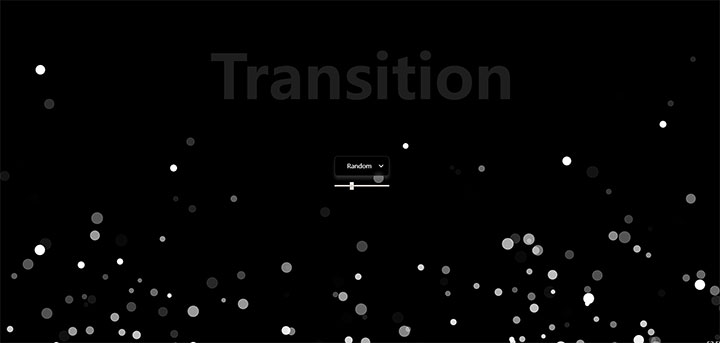html5 canvas网页底部圆点气泡悬浮上升动画特效