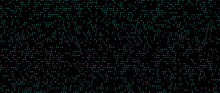 html5 canvas全屏科幻粒子闪烁背景动画特效