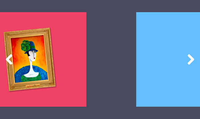 HTML5全屏响应式幻灯片动画缩放切换代码