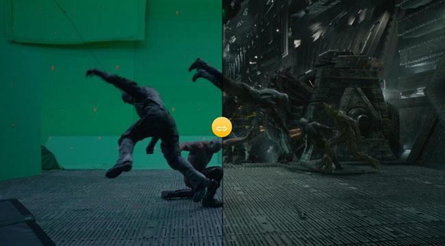 jQuery电影背景画面对比比较滑块代码