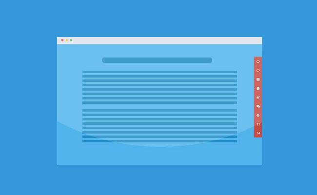 jQuery网站右侧固定可伸缩浮动菜单代码