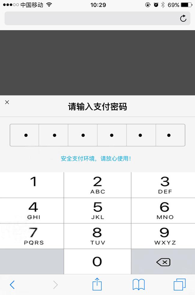 js仿手机支付宝输入支付密码特效