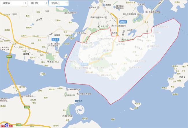 网站特效代码jQuery省市区三级联动百度地图分区代码