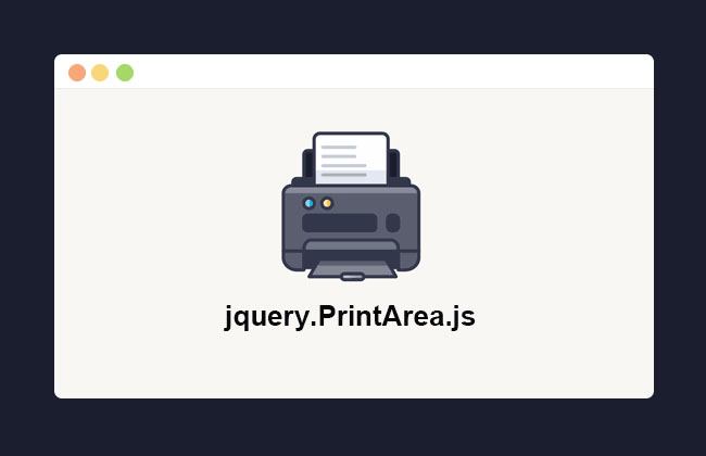 网站特效代码可局部打印的网页打印插件jQuery.PrintArea