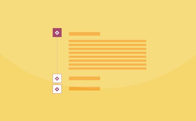 CSS3垂直手风琴文字列表切换代码