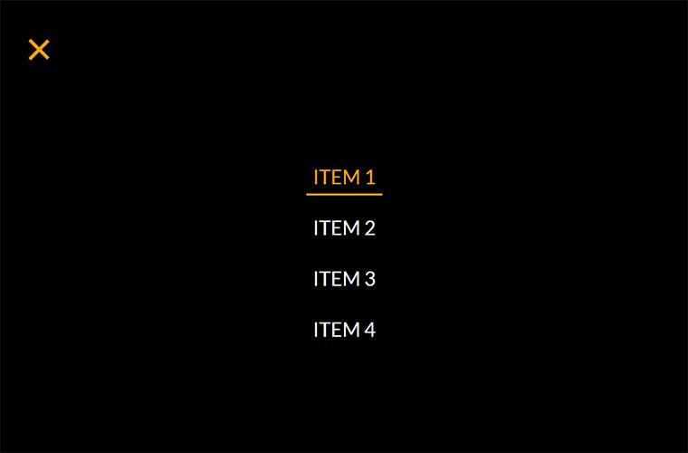 jQuery+CSS3全屏导航菜单代码