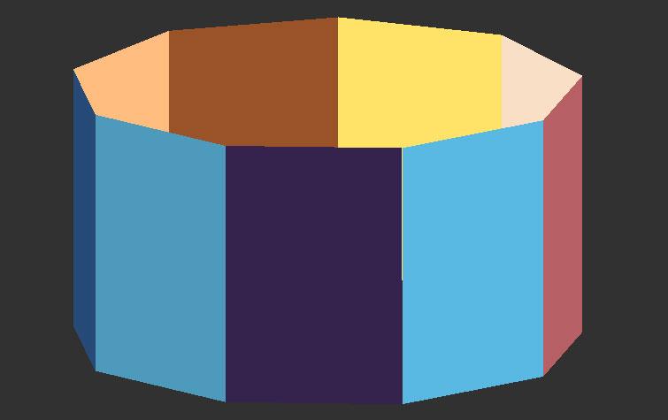 CSS3图片万花筒3D旋转动画特效