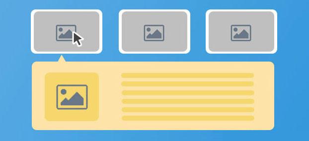 jQuery可伸展的Bootstrap图片网格布局代码