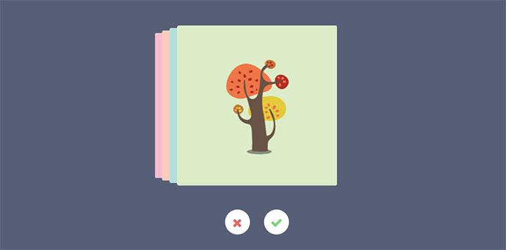 14款创意CSS3堆叠卡片动画切换代码