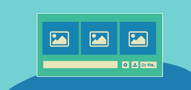 网站特效代码boostrap拖动文件批量上传插件