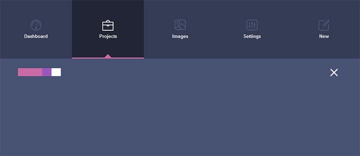 jQuery+HTML5网站顶部3D翻转展开导航菜单代码