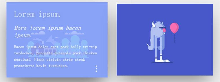 CSS3鼠标悬停图片显示文字动画特效