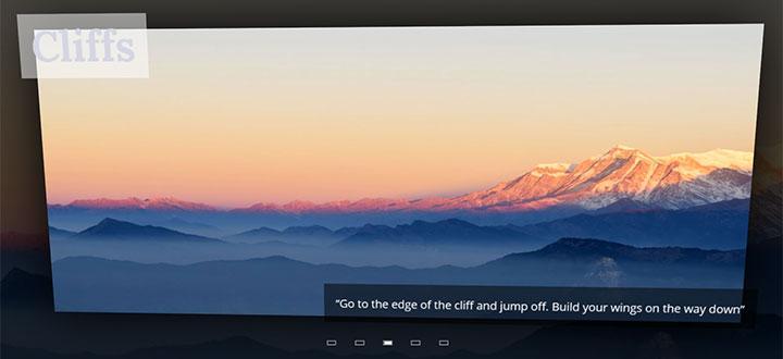 JS+CSS3 3D效果全屏图片切换特效