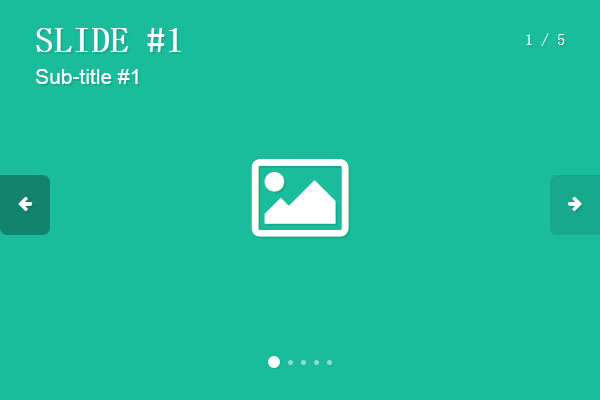 jQuery带标题文字介绍的图片轮播插件