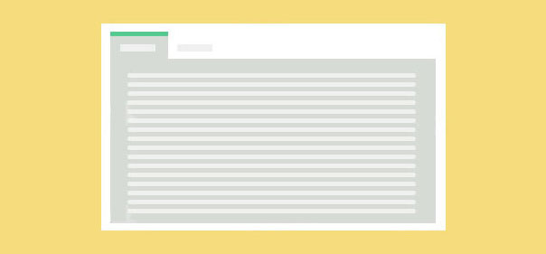 4种不合风格jQuery自定义tab选项卡殊效