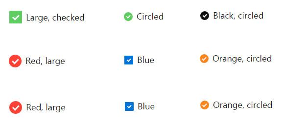 网站特效代码jQuery自定义美化复选框checkbox样式