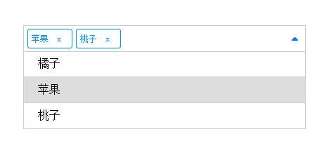 网站特效代码jQuery点击下拉选择添加标签代码