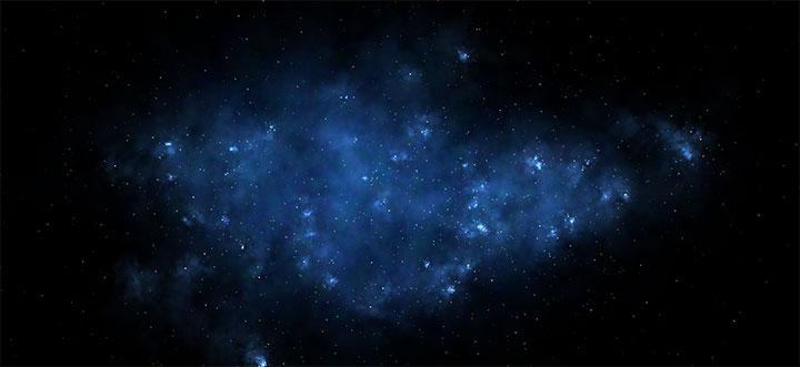 HTML5 Canvas鼠标绘制银河系特效