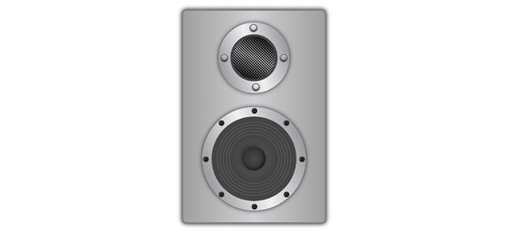 CSS3灰色质感音箱播放动画特效