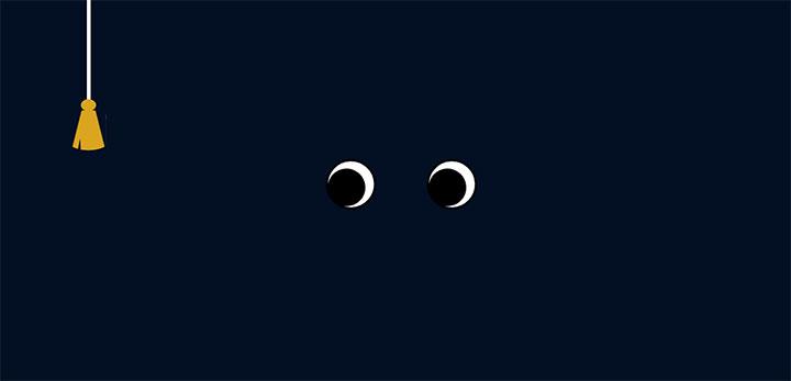 jQuery+CSS3黑夜开灯关灯动画特效