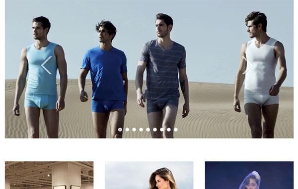 织梦dedecms高档服装设计定制外贸公司网站模板