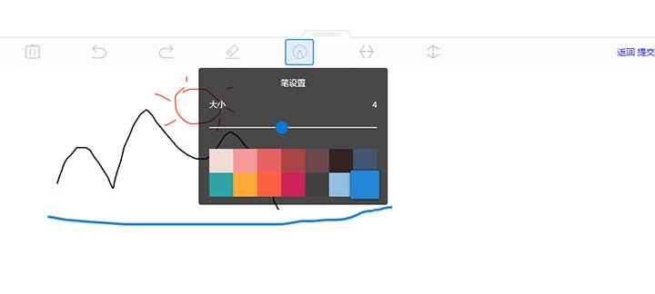 html5 canvas簡單的網頁簽名畫板代碼