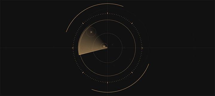 html5 canvas绘制圆形雷达扫描动画特效
